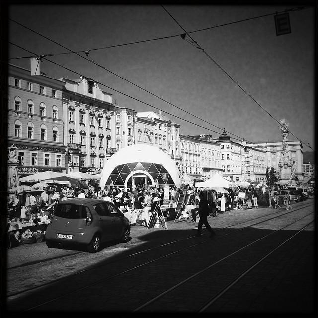 Linz street market