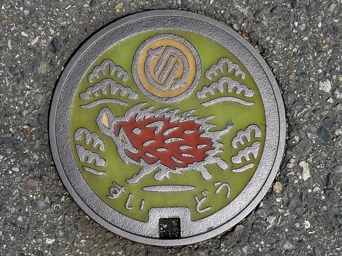 Inagawa Hyogo manhole cover(兵庫県猪名川町のマンホール)