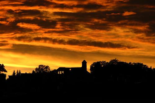 sunset czech teplice teplitz škvárovník