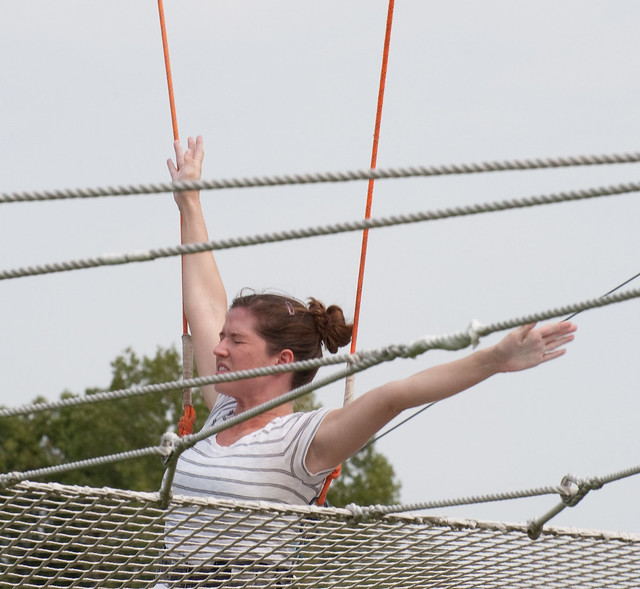 Trapeze School at Governors Island