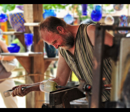 Glass Blower, Maryland Renaissance Festival