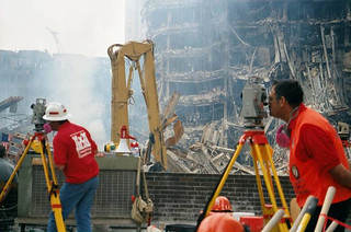 USACE structural experts kept a constant watch on the heavily damaged structures surrounding Ground Zero