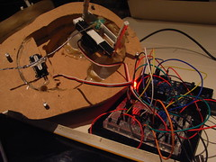 Arduino-controlled automaton eyeballs