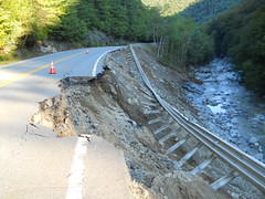 Route 2, Town of Florida, Irene Flooding Damage, September 2011