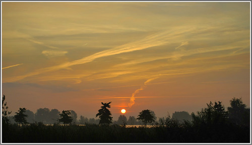 "holland nature netherlands sunrise nederland natuur friesland leeuwarden zonsopgang fryslân ""flickraward"" nijewielen"