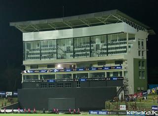 Media Box at Pallekele International Cricket Stadium