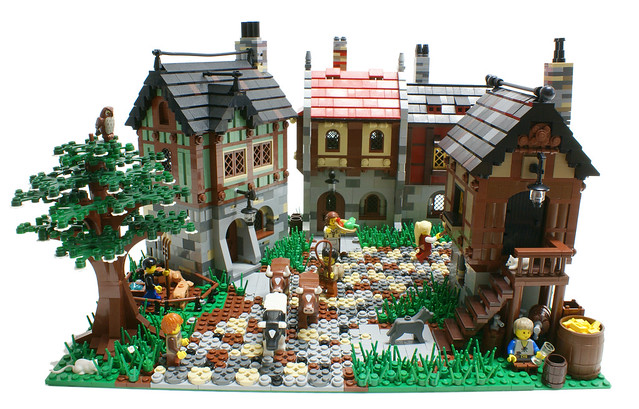Lego Medieval House lego medieval life 8 - a gallery on flickr