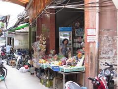 Shop Down the Alley Ways - Twixt Pham Ngu Lao and Bui Vien - Saigon, Vietnam
