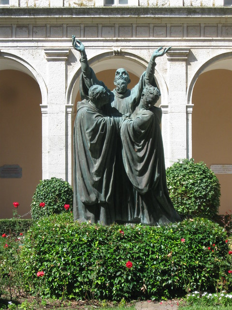 St. Benedict at the Abbey of Monte Cassino