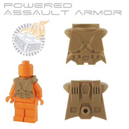 Powered Assault Armor - Dark Tan