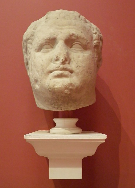 Portrait of the Flavian period, Titus?, last quarter of the 1st century AD, Ashmolean Museum