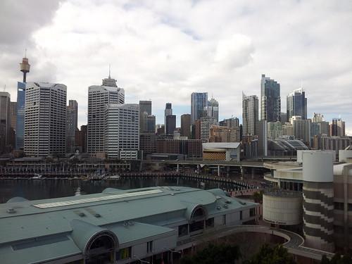 Sydney on a cloudy day