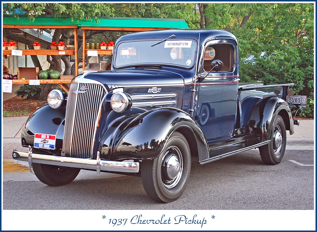 1937 Chevrolet Pickup The August 21 2011 Brighton Cruise Flickr Photo Sharing