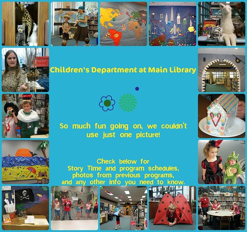 main library children's dept collage