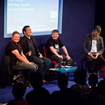 Darren Shan, Barry Hutchison, Alexander Gordon Smith and Philip Ardagh |