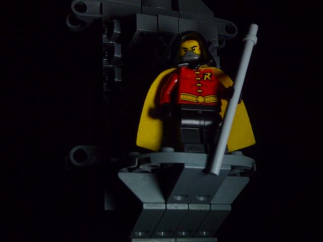 Lego arkham city robin