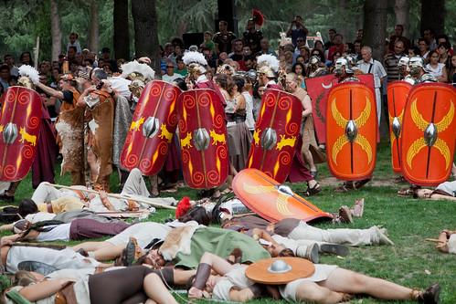 Batalla entre castrexos e romanos