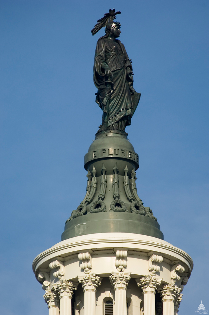 The Statue Of Freedom Architect Of The Capitol