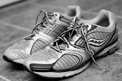 running shoe, sneakers, footwear, white, shoe, monochrome photography, athletic shoe, monochrome, black-and-white, black,