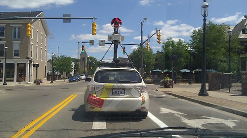 Google Maps Street View Car