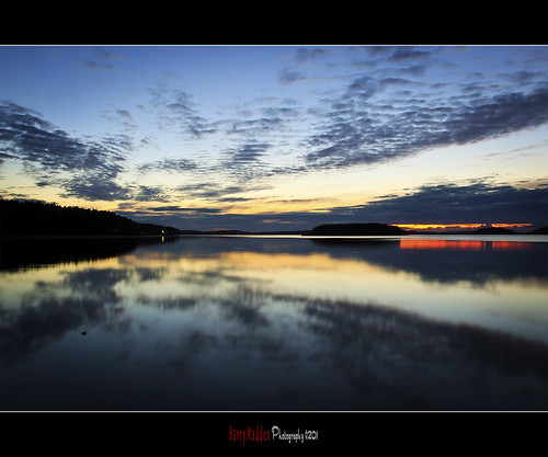 sunset clouds reflections suomi finland lappeenranta lakesaimaa