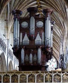 The John Loosemore organ case 1665AD