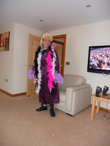 Stuart as Ric Flair