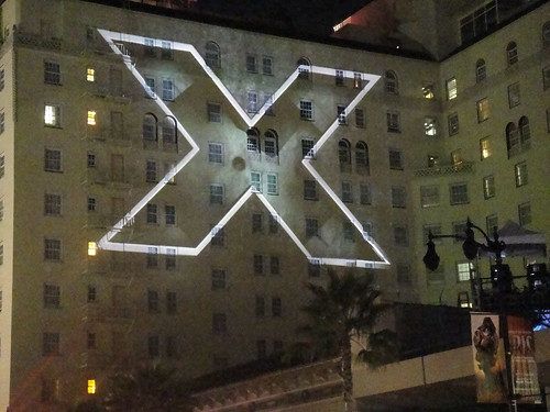 X-Men First Class Video Wall @ the Roosevelt Hotel, Hollywood