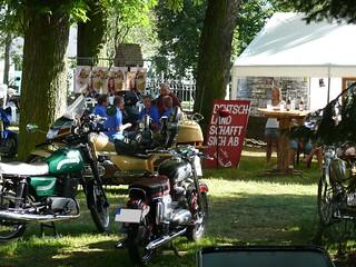 Stand der Motorradfreunde Ragow
