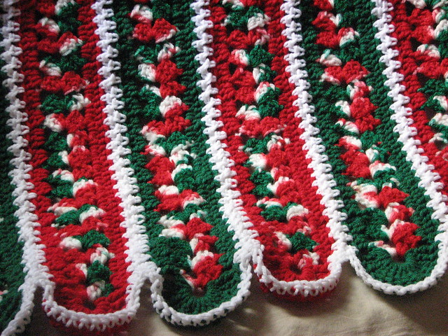 Free Crochet Christmas Throw Patterns : Christmas Afghan Patterns Design Patterns