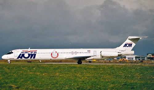 Douglas DC9 (MD-80 Series)_0009 AOM----Dublin