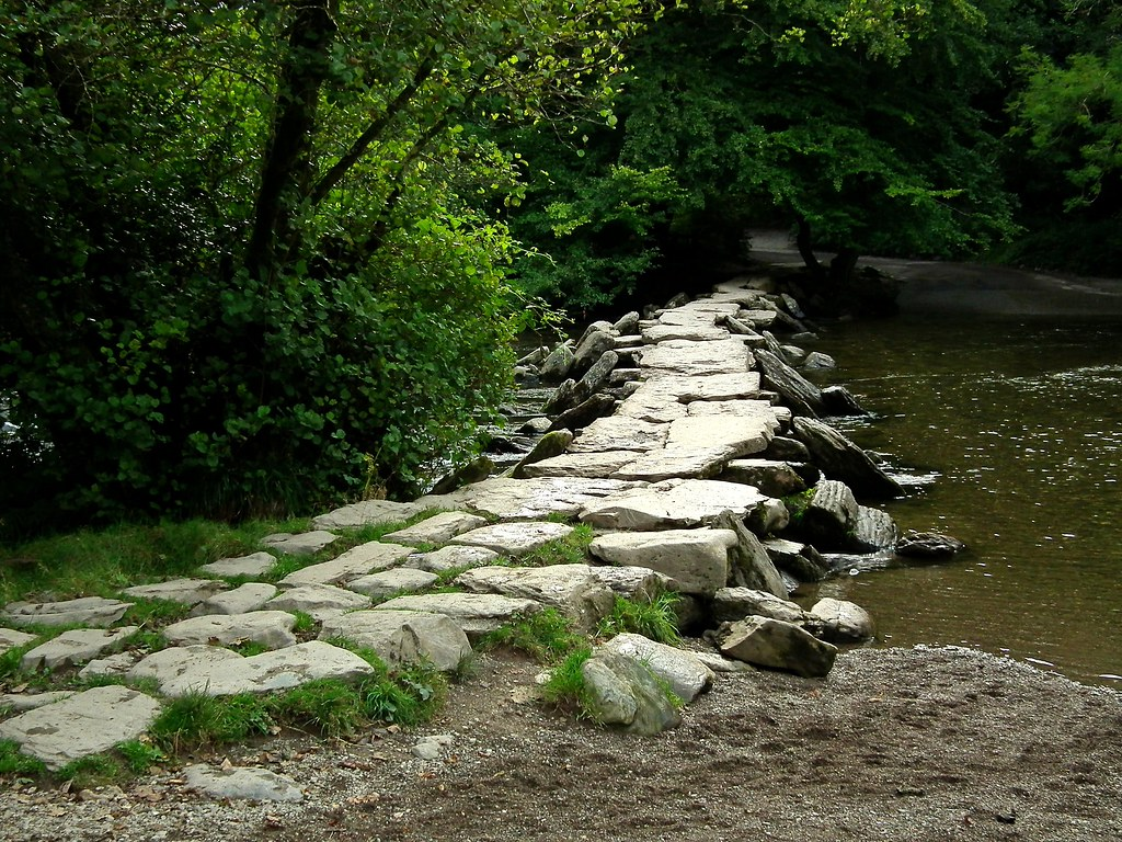 Clapper bridge  ~ Tarr Steps