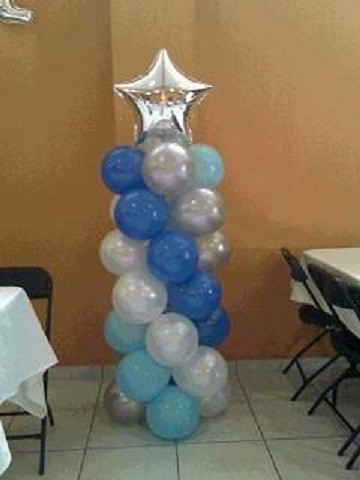 columnas de globos con metalizado flickr photo sharing