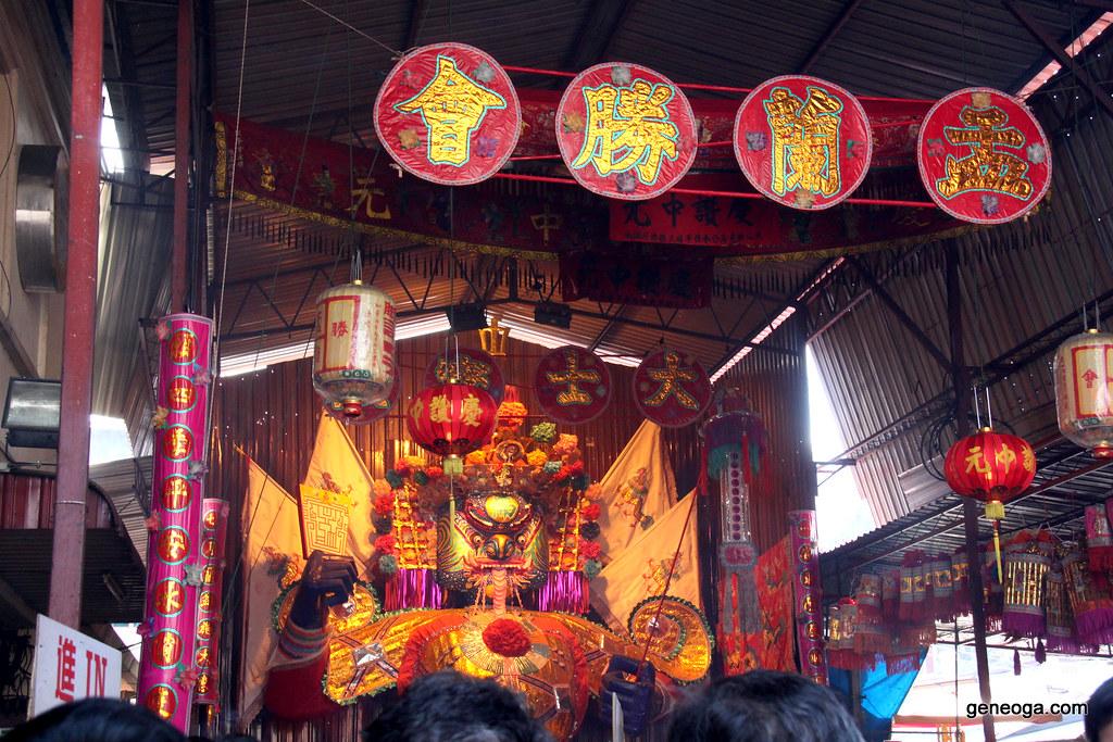 Fierce Tai Su Yah effigy