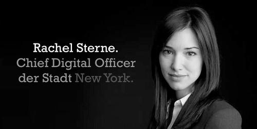 Rachel Sterne, CDO of NYC