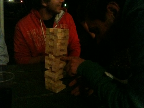 Late night Jenga  - Activate 2011 | by Phil Ricketts
