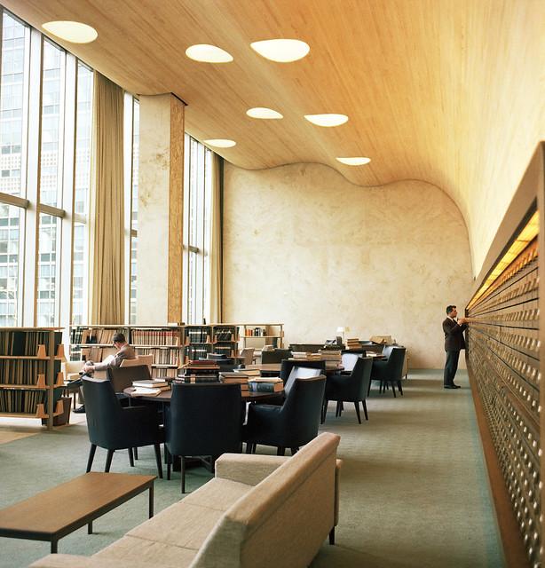 36 Fabulous Home Libraries Showcasing Window Seats: Inside UN Headquarters, New York