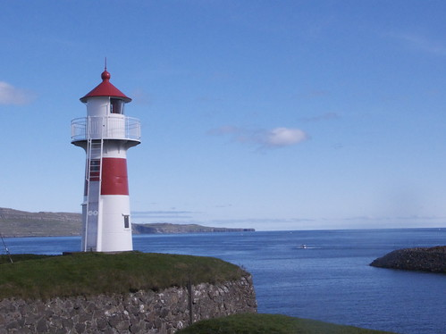 Lighthouse, Torshavn, Faroe Islands