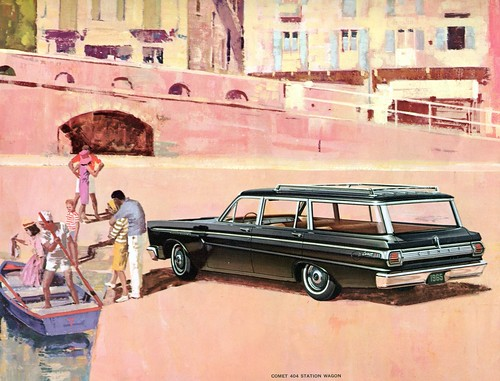 1965 Mercury Comet 404 Station Wagon