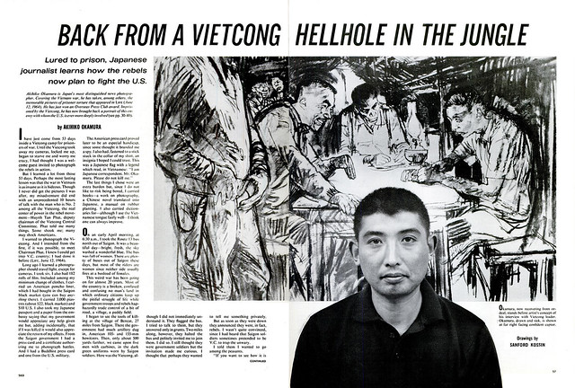 LIFE Magazine July 2, 1965 - Life with the Viet Cong (1) - Akihiko Okamura, Japanese photographer