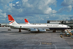 G-ARRB Boeing 707-436 British Airways MAN 03JUN74