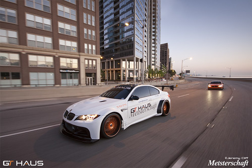 GTHAUS Widebody e92 BMW M3:  Cruising on LSD