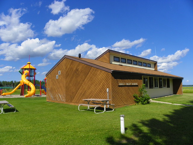 Angle Finder App >> Angle Inlet School | Northwest Angle, Lake of the Woods Coun… | Flickr - Photo Sharing!