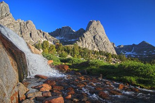 Pingora Peak, Cirque of the Towers, Wind River Range, Wyoming