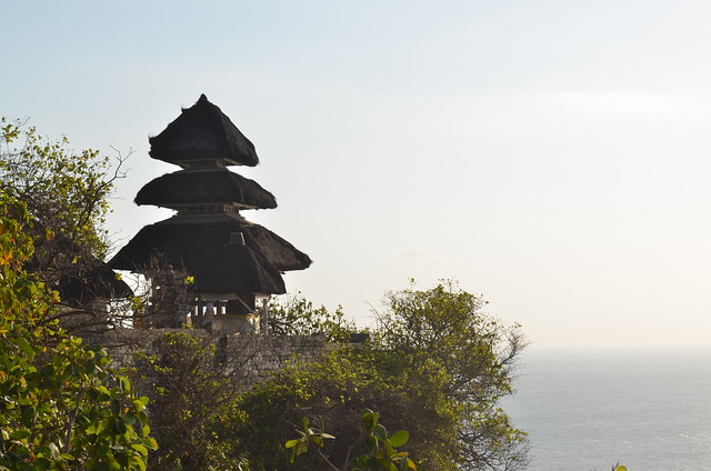 Uluwatu temple on Bali by CC user eguidetravel on Flickr