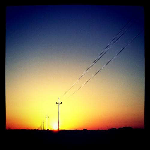 Posta de sol des del far de la Mola. Formentera #formentera #formentera2011 #sol #fotoscel #mediterrània #fardelamola