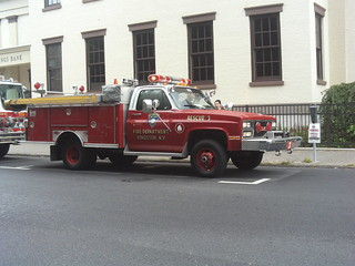 Kingston Fire Dept. GMC E-One Rescue 3