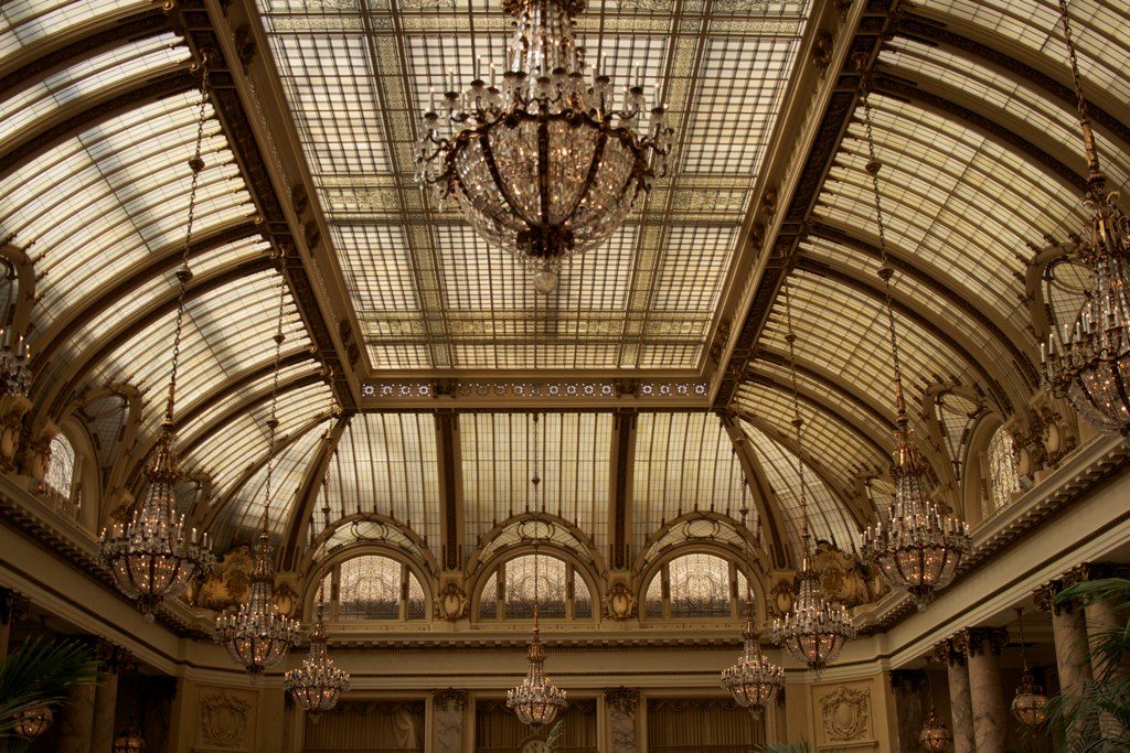 The Garden Court at Palace Hotel - San Francisco