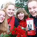 Small photo of Astrid, Marta, Anette og Trond Agnar
