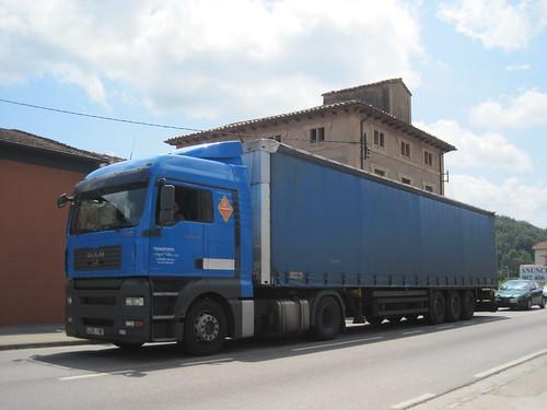 Transports Àngel Vilar de La Bisbal d'Empordà